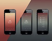 Sunrise Sunset Calendar App Redesign Concept