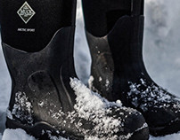 Product Photography for Muck Boots