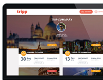 tripp Travel Web Application