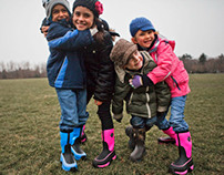 Muck Boot Kids Lifestyle Photography