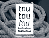 Tau, a typeface inspired by sailing.