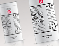 Douwe Egberts Coffee Packaging