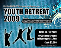 Youth Retreat Poster Design