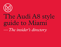 Monocle x Audi Style Guide to Miami