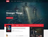 IMDb Movie/TV Page Redesign