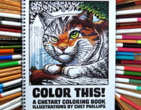 ChetArt Coloring Books