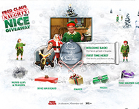 Fred Claus microsite
