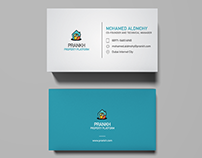 Prankh - Business Card Design