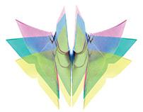 Art makes me fly MAP18-Mamut Art Project 2018 sticker