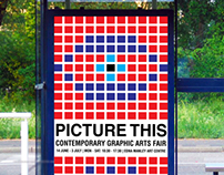 'Picture This' Graphic Arts Fair Poster