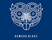 Oswego Blues Logo, Rugby Team