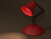 High Poly Meshes Scene + Animation - Lamp