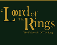 Simple Lord of the Rings Posters