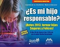 Escuela de Padres / Posters y Web promo