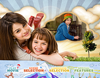 Ramona & Beezus | DVD Menu Storyboards