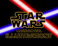 Star Wars Character Illustrations