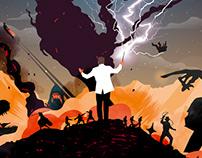 Hans Zimmer vs John Williams - Gig poster