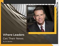 Where Leaders Get Their News
