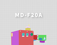 MD-F20 Coding Machine WEBSITE