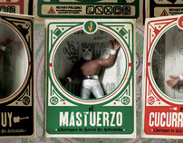 Luchadores Botellita deJerez