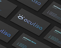 Oculisa | Leads management SaaS Branding