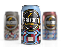 Diseño Cervezas Fasciot Made in Barcelona