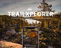 TRAILXPLORER APP | 探路者APP设计