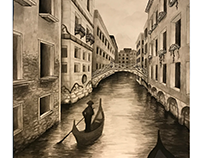 Canal in Venice - Drawing 101 final