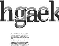 Typeface Comparisons
