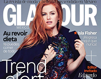 Isla Fisher for Glamour Magazine by Rachell Smith