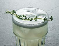 Minimalist Drinks Photography || menu