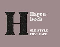 Hagenbeck Font Face