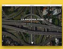 La Máquina Films | Diseño Web