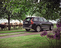 VOLVO XC 90 with Johannes King for Feinschmecker