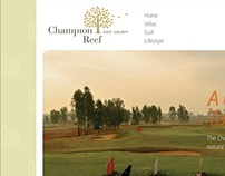 Champion Reef Golf County, Website