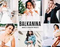 Free Balkanina Mobile & Desktop Lightroom Presets