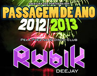 "Event Flyer ""Passagem de Ano 2012/13"""