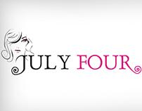 July Four Logo (Feminine)