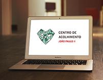 Branding Centro de Acolhimento João Paulo II