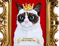 His Grumpiness - The Grumpy Cat