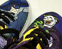 Vans: Batman vs The Joker