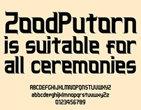 ZoodPutorn Font