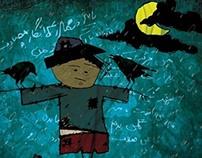my illustration -  scarecrow
