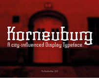 Korneuburg Display | Free Font