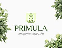 «Primula» Landscape Design Identity