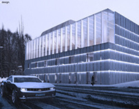 culture center in Warsaw. student project