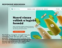 Vitaslimming - webdesign