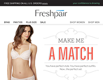 Freshpair Email Campaigns