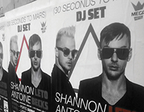 30 Seconds to Mars DJSET - Mupi / Poster / Calendar