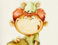 El niño y el ratón